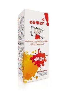 "Xarope Infantil ""A Comer"",  Soria Natural"