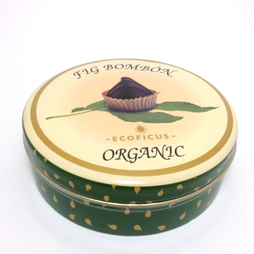 Figos bio com chocolate negro - Ecoficus