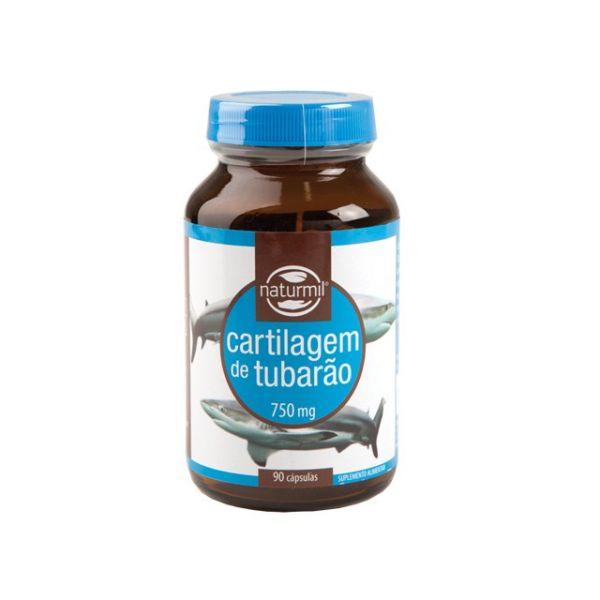 Cartilagem de Tubarão, 750 mg., naturmil