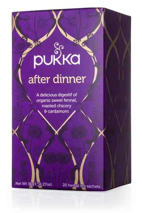 Chá After dinner, Pukka