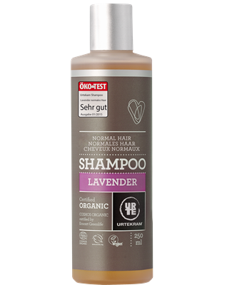 Champô lavanda, cabelos normais 250ml, Urtekram
