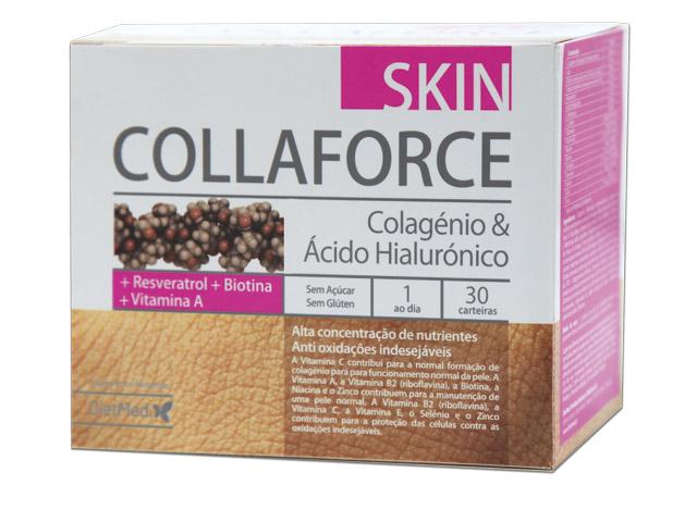 collaforce skin, colagénio, ac.hialurónico, 30 saquetas