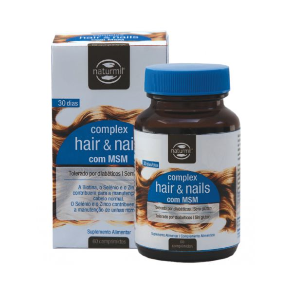 hair & nails, complexo cabelo e unhas, com msm