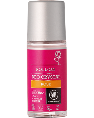 Desodorizante Rosa, roll-on, Urtekram