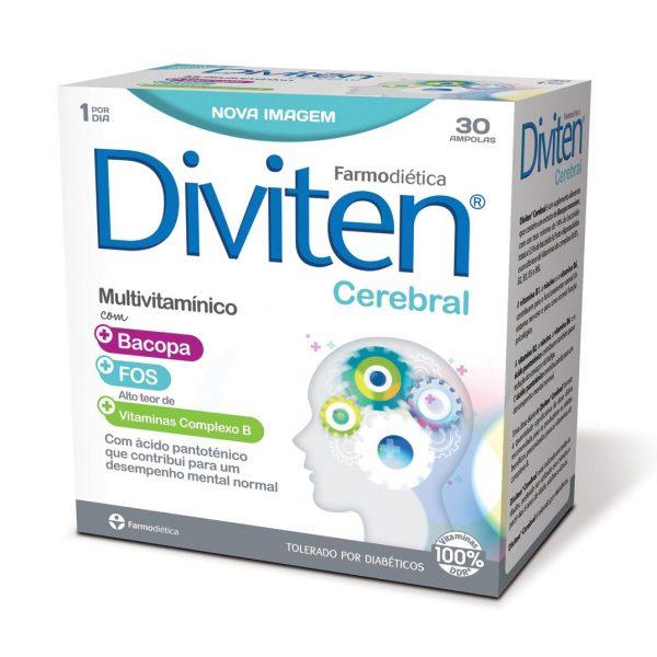 Diviten Cerebral, multivitamínico, Farmodiética