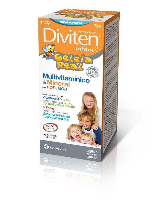 Diviten Infantil, Multivitam. c/Geleia real