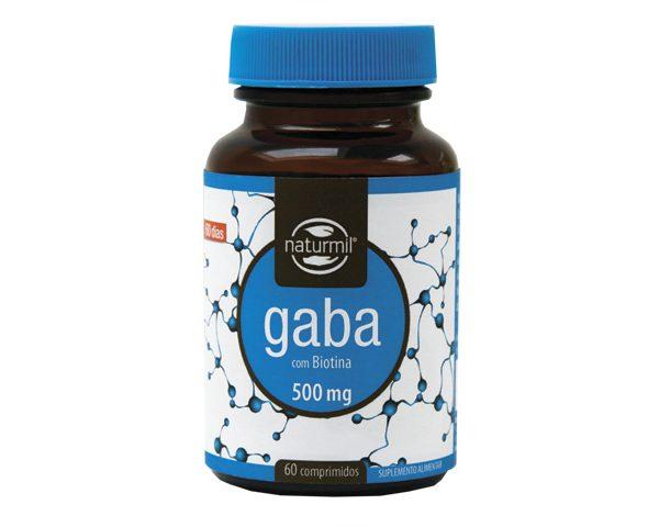 gaba, 500 mg, naturmil