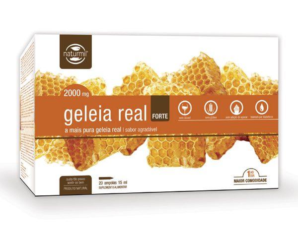 Geleia Real Forte, naturmil