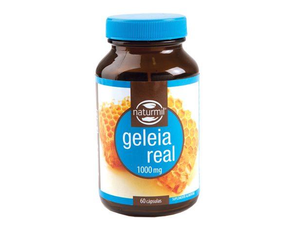 geleia real, cápsulas 1000 mg., naturmil