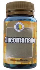 Glucomanano, inibição do apetite, 48 cáps F.J. Campos