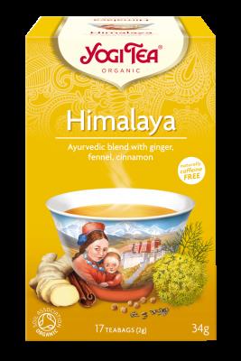 chá himalaya, yogi tea