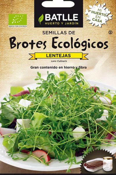 sementes biológicas de lentilhas, batlle