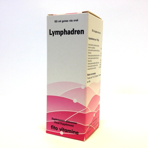 Lymphadren, para problemas linfáticos, 50ml