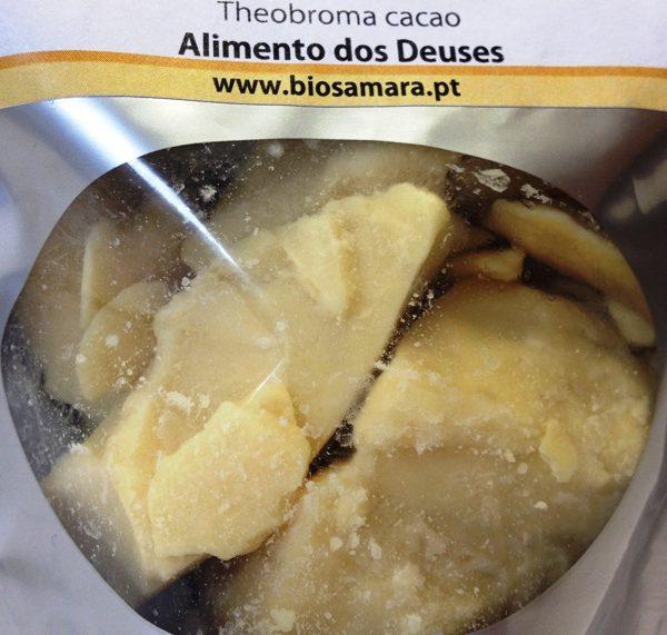 Manteiga de cacau biológica 125g, Biosamara