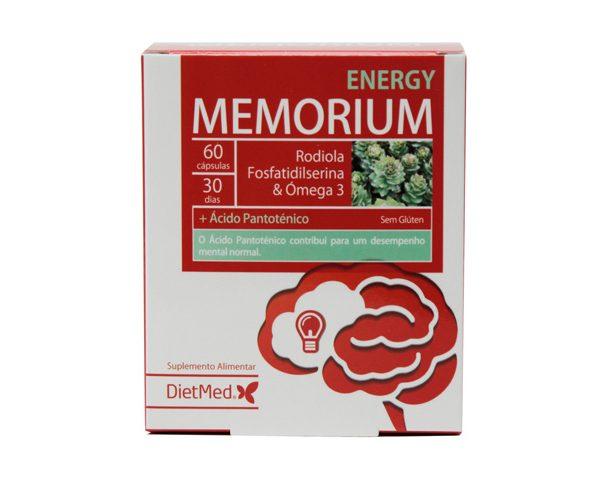 Memorium Energy, cápsulas, Dietmed