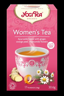 chá mulher, yogi tea