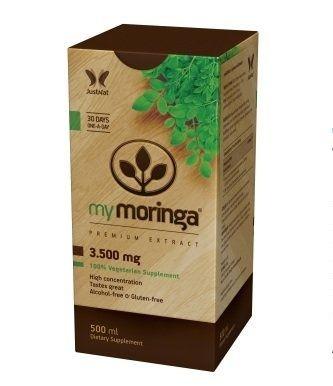 My Moringa, xarope, com stevia