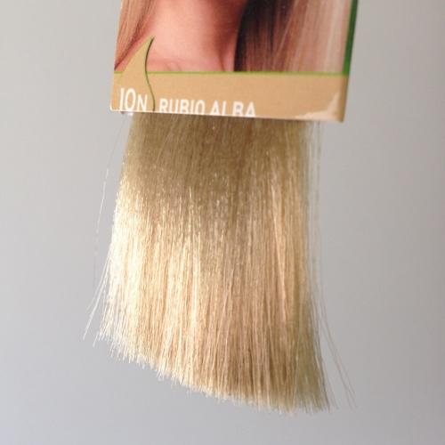 colorante natural cabelos - louro alba, 10n
