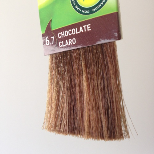 colorante natural cabelo - chocolate claro, 6.7