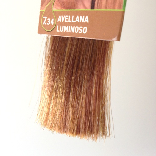 colorante natural cabelo - avelã luminoso, 7.34