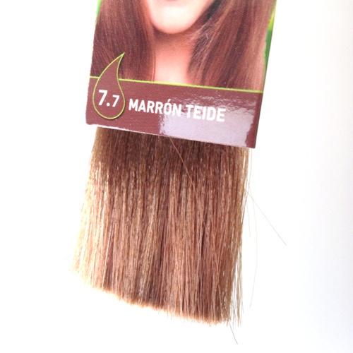 colorante natural cabelo - marrom, 7.7