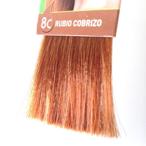 colorante natural cabelo - louro acobreado, 8c