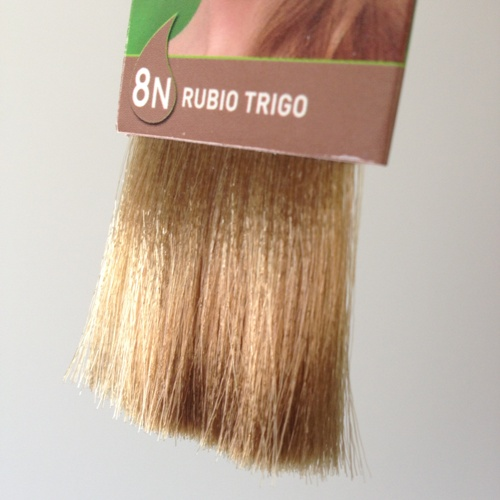 colorante natural cabelo - louro trigo, 8n