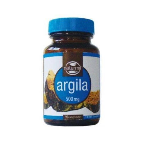 comprimidos de Argila, 500 mg, Naturmil