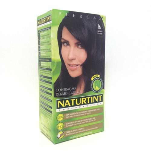 colorante natural cabelos - negro ébano, 1n