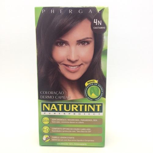 colorante natural cabelo - castanho, 4n