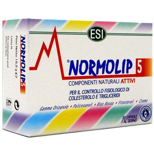 Normolip 5, controlo e redução de colesterol, esi