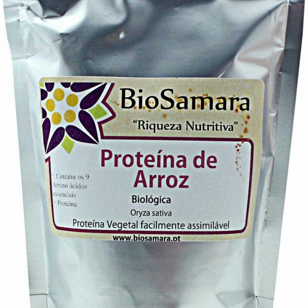 Proteína de Arroz Biológica 250g, Biosamara