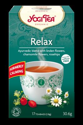 chá relax, yogi tea
