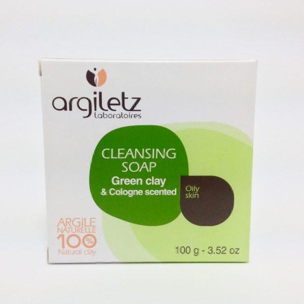 sabonete argila verde, aroma colónia - 50% desc.