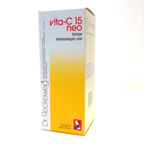 xarope vita-C 15 neo, 250ml, Dr. Reckeweg