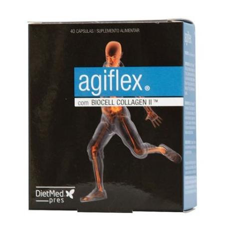 agiflex, 40 cápsulas, dietmed