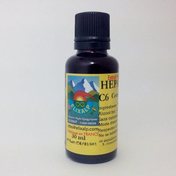 elixir espagírico C6 HEPA ROSMARINUS
