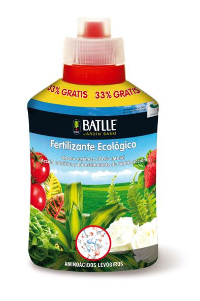 fertilizante ecológico, líquido, batlle