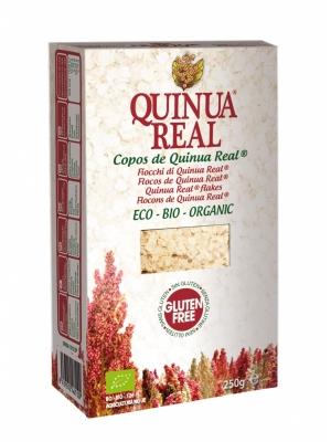 Flocos de quinoa biológicos, sem glúten