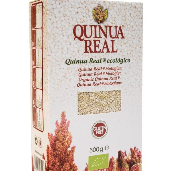 quinoa branca biológica, s/ glúten, 500g- Quinua Real