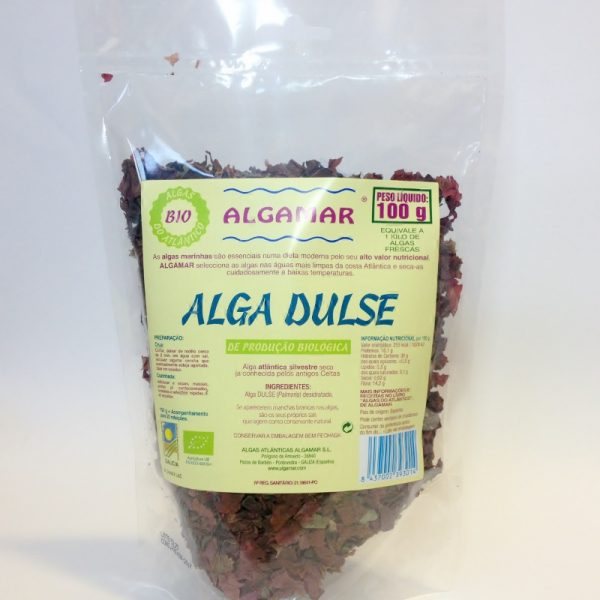 alga dulse, 100g, algamar