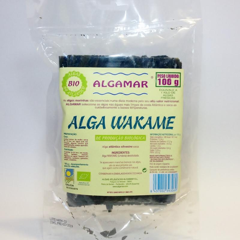 alga wakame, algamar