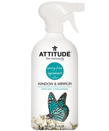 Detergente ecológico limpa-vidros, Attitude