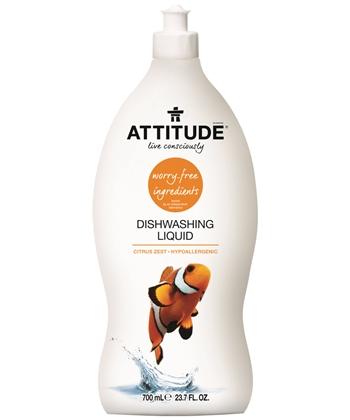 Detergente ecológico para loiça (citrinos), Attitude