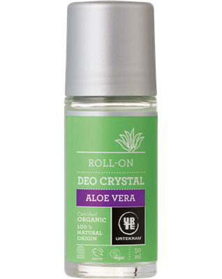 Desodorizante aloe vera, roll-on, Urtekram