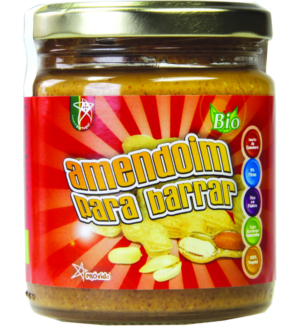 manteiga de amendoim biológica, 230g, próvida