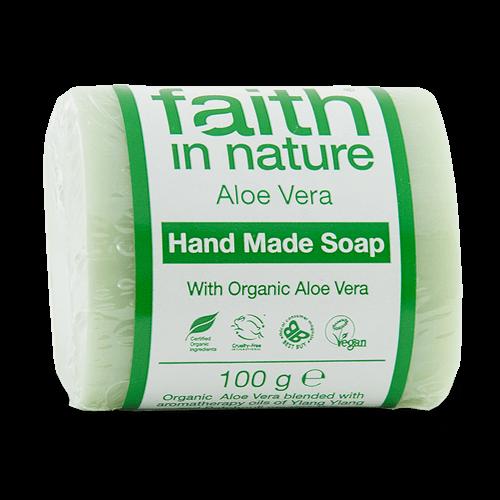 sabonete natural de aloe vera, faith in nature