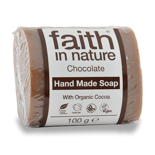 sabonete natural de chocolate, faith in nature