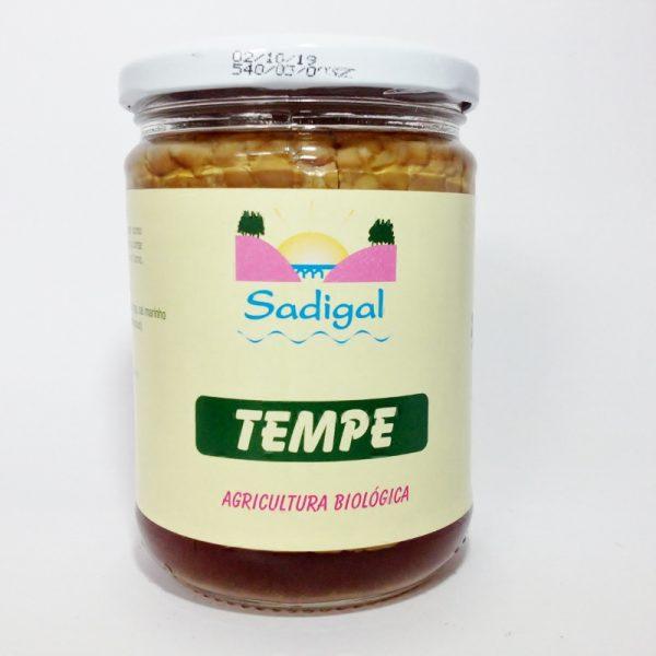 Tempeh, soja natural fermentada, biológico