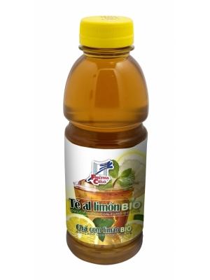 chá de limão biológico, c/ sumo de uva, 100ml